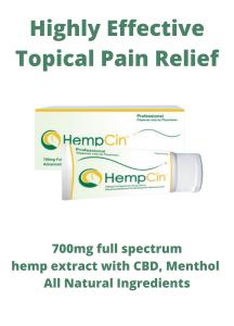 Hempcin Topical Pain Relief
